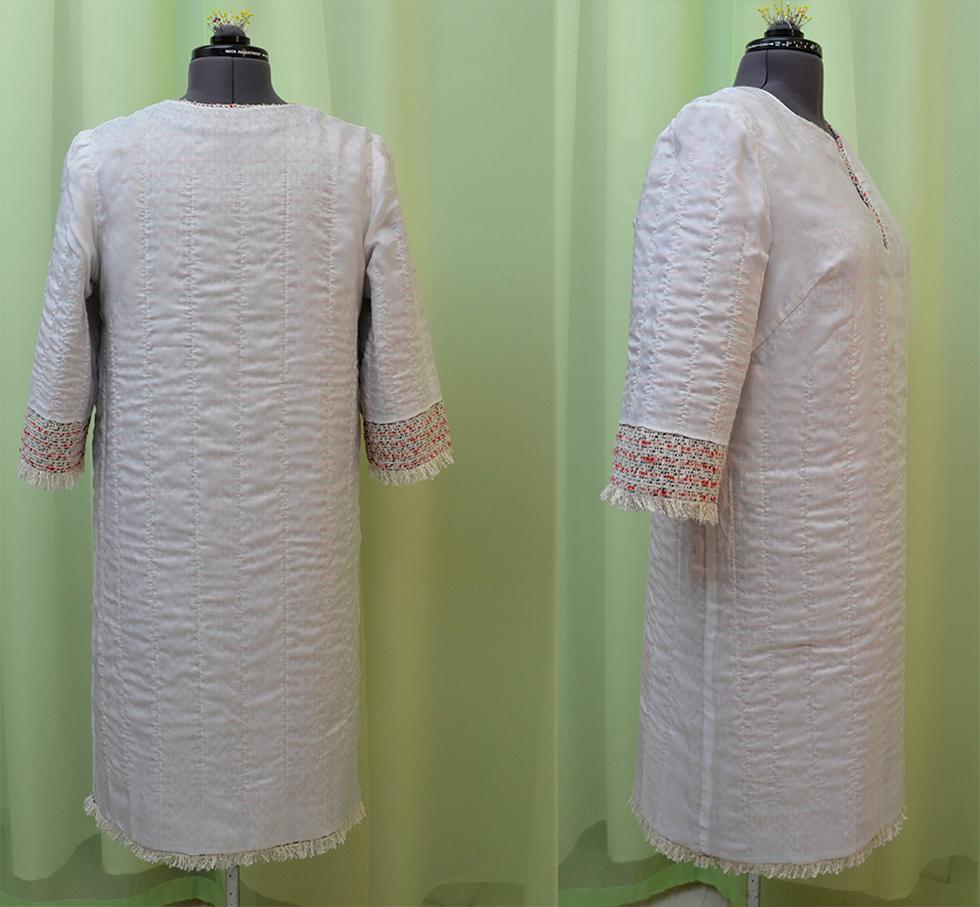платье шанель как шить
