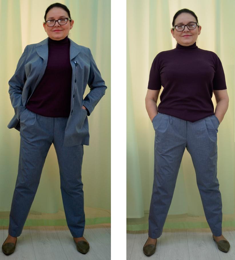 базовая основа брюк