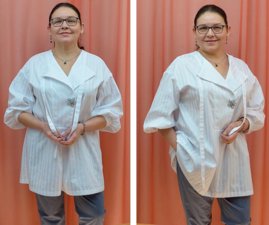 выкройки  женской блузки