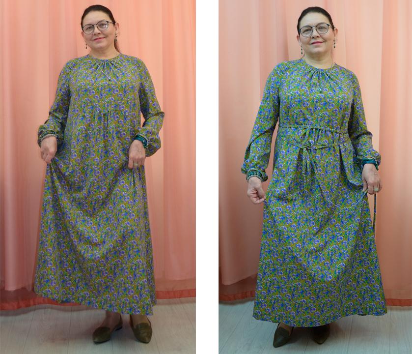 платье бохо без выкройки